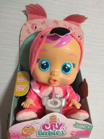 Интерактивная кукла пупс Фэнси фламинго Cry Babies Baby Fancy