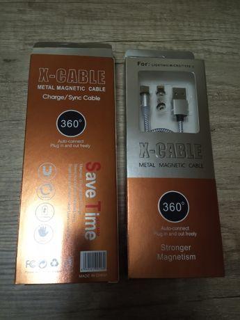 Шнур заряд. устройства с магнитным штекером для всех видов смартфонов