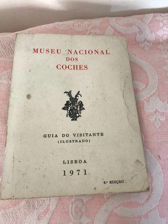 Museu Nacional dos Coches, Guia do Visitante 1971