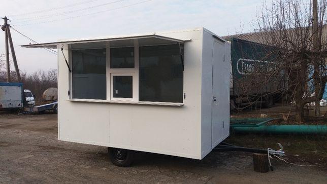 Производство торгових кіосков-прицепов, фасфуд, купава, кофейня.
