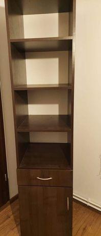 Komplet mebli : Łóżko, biurko, szafa, półka