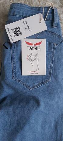 Spodnie jeans r 36 nowe z metka