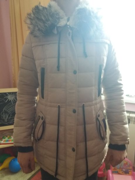 Зимова курточка пуховик парка куртка