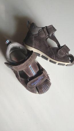 Кожаные сандалии super-fit на мальчика