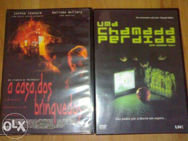 Filmes dvd casa dos bonecos e chamada perdida