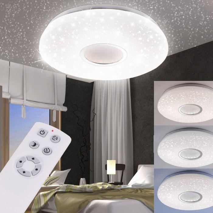 Plafon JONAS efekt gwiazd LED aż 6425 lumenów! ciepłe/zimne 79 cm śred Częstochowa - image 1