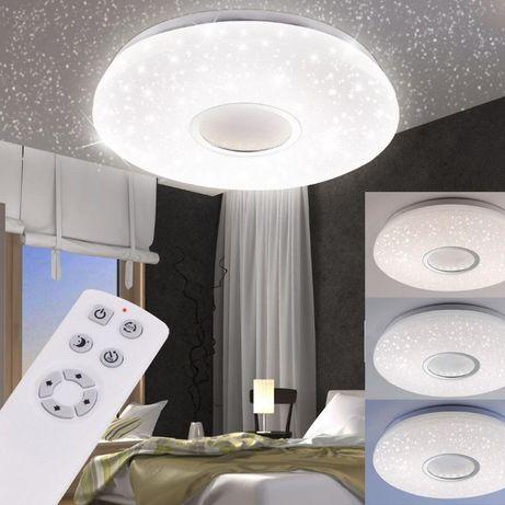 Plafon JONAS efekt gwiazd LED aż 6425 lumenów! ciepłe/zimne 79 cm śred
