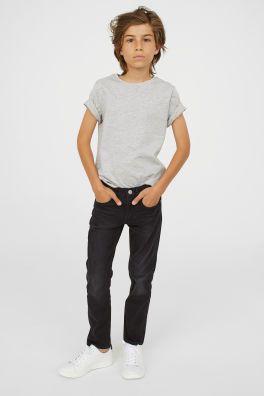 Spodnie superstrecht skinny fit jeans h&m 152