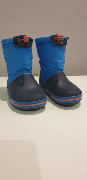 Zimowe buciki Crocs C12, r. 29/30 Lubin - image 1