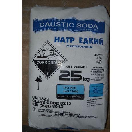 Сода каустическая-натр едкий для протравки
