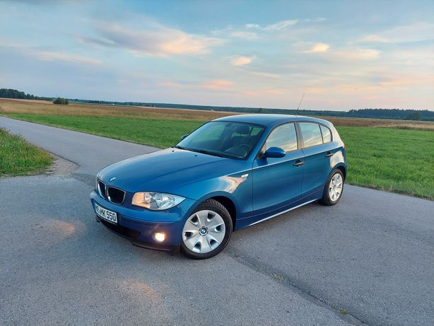 BMW 116_5 drzwi_klima_śliczny kolor_zadbana_hak_zamiana_OKAZJA