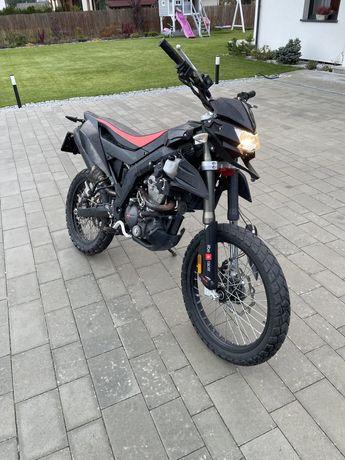 Aprilia RX125, zarejestrowany