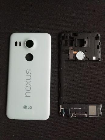 Capa traseira e módulo impressão digital Nexus 5x
