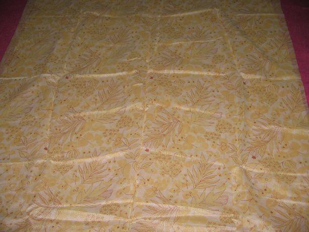 Ткань гладкая кремовая