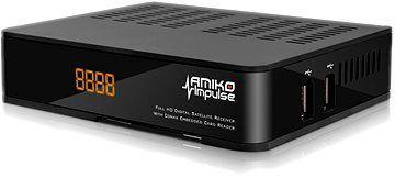 Receptor Satélite AMIKO IMPULSE HD (Novo C/ Garantia)