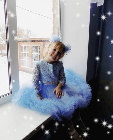 Платье пышное новогоднее