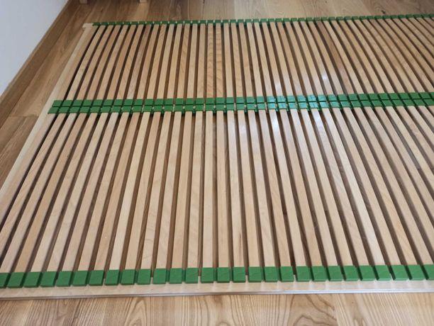 Stelaż pod łóżko 140x200 drewno bukowe