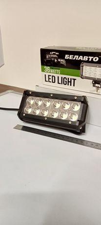 Яркий светодиодный фонарь-прожектор •LED•
