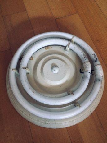 Lâmpada dupla flourescente redonda