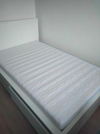 Łóżko malm 120x200 z materacem h3
