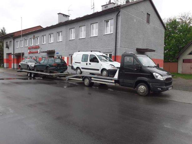 LAWETA TANIO! Pomoc drogowa dłużyca transport autopomoc autolaweta!