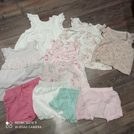 Ubranka dla dziewczynki 62-68 wiosna/lato