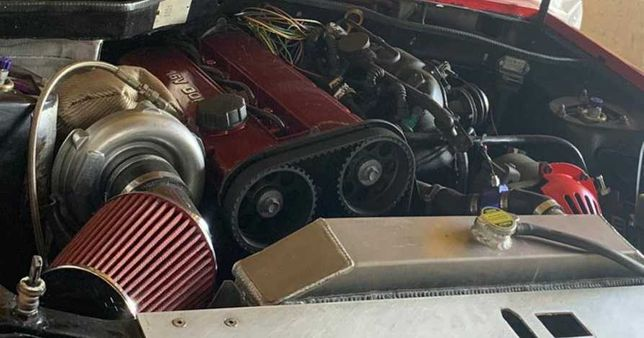 Swap motor e caixa e turbo volvo b204ft