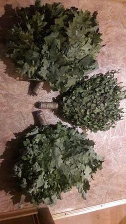 Веники для бани дуб, канадский дуб,берёза,липа,эвкалипт,б/эвк,дуб/эвк