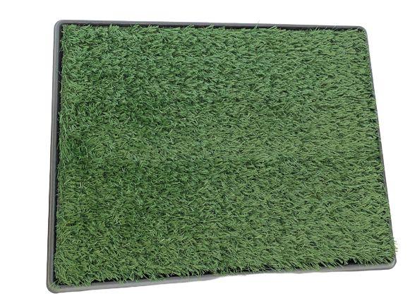 Toaleta dla psów 50x64cm trawa