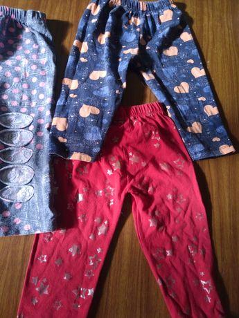 Бриджи,  шорты для девочки4-5 лет