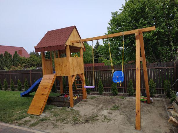 Ogrodowy plac zabaw!