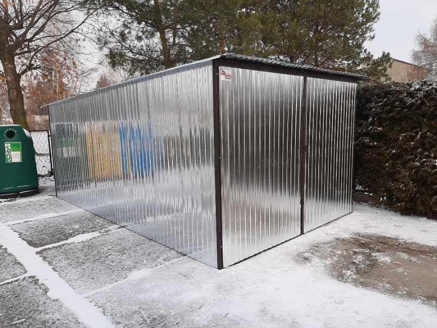 Garaż Blaszany 3x5m Garaż blaszak Różne wymiary np. 2x3, 4x6, 6x5 4x5