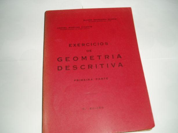 «Exercícios de Geometria Descritiva» - 1ª e 2ª partes