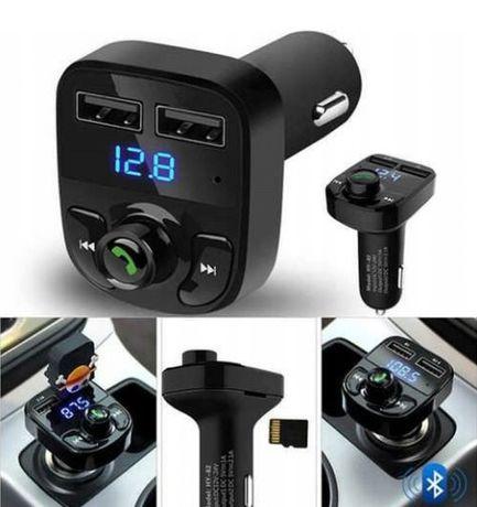 TRANSMITER FM Bluetooth MP3 Ładowarka 2X USB ładowanie