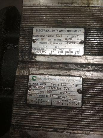 Silnik wrzeciona 7.5 kW od 1500 do 6000 obrotów