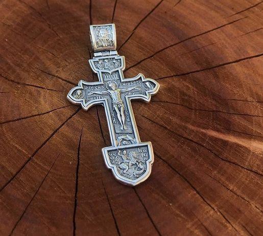 Крест серебро / серебряный крест