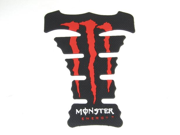 Наклейка на мото бак Monster Energy накладка от царапин на баке / шлем