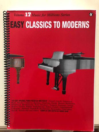 Easy classics to Moderns 142 композиции