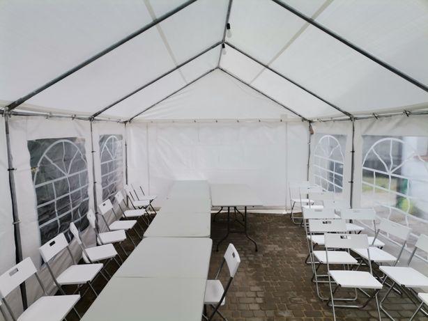Pawilony namioty imprezowe wesele komunie urodziny lecia