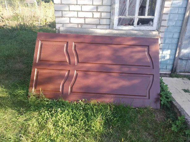 Дверь деревянная входная 2005х1135х40 без короба
