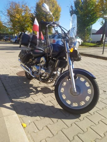 Daelim daystar vl 125 motocykl chopper kat. A