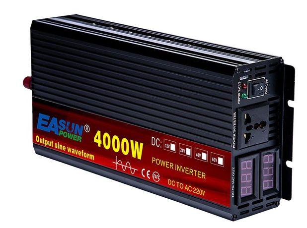 Inversor transformador de corrente 24v 2000w 3000w 4000w