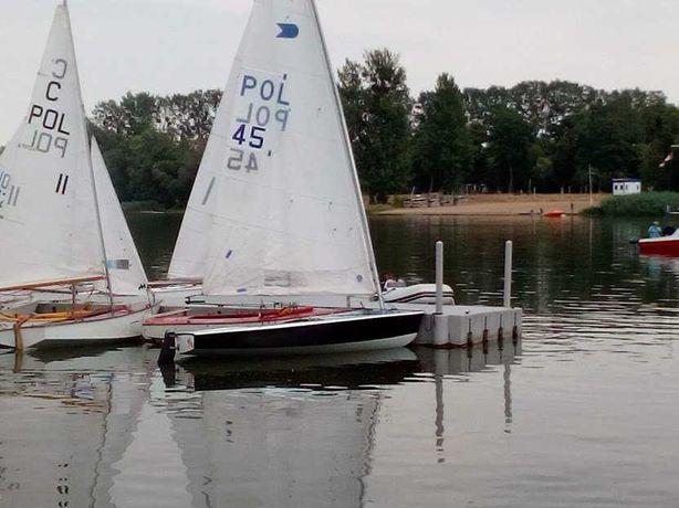 Łódka żaglowa OK Dinghy, żaglówka, jacht