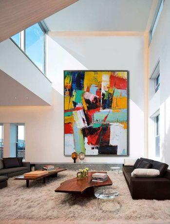 Quadros Abstratos feitos á Medida