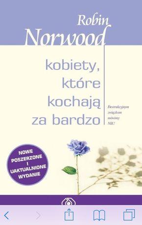 Kobiety które kochają za bardzo, książka psychologiczna