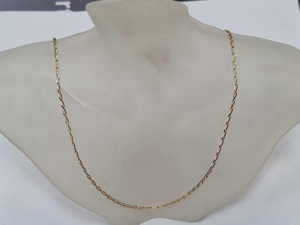 Klasyczny złoty łańcuszek damski / męski/ 585/ 3.42 gram/ 55cm