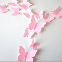 Motylki 3d komplet OSTATNI