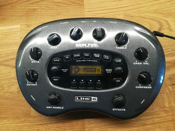 S/Z Line 6 Pod XT Bass multiefekt do gitary bas wzmacniacz efekt pedał