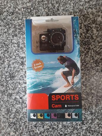 Sports action cam à prova de água