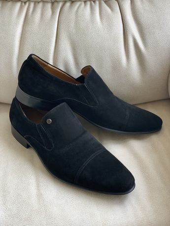 Туфли замшевые Новые 42 размер